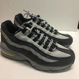 Nike Air Max 95 (GS) Off Noir/Dynamic Yellow Grey